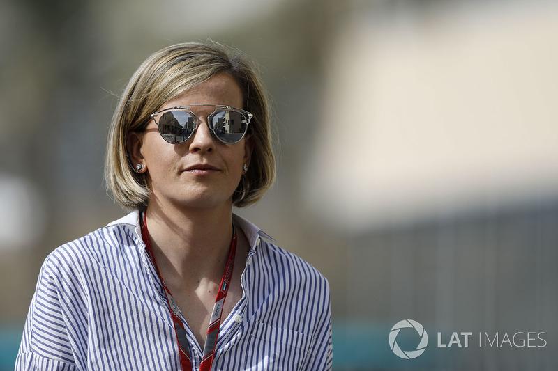Susie Wolff chegou a ser contratada pela Williams e participou de testes - incluindo treinos livres de GP na F1.
