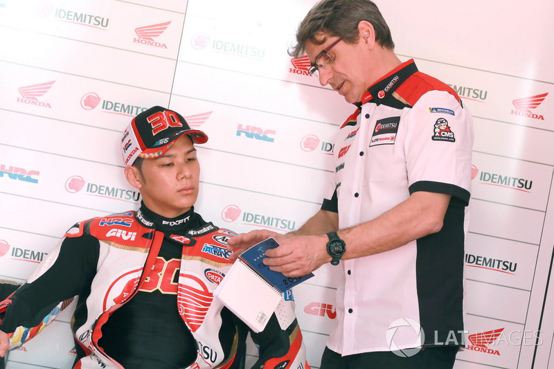 LCR Honda. #30 Такааки Накагами