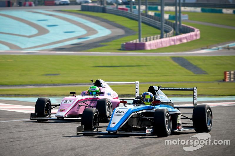 Charles Weerts, Dragon Motopark F4, David Schumacher, Rasgaira Motorsports