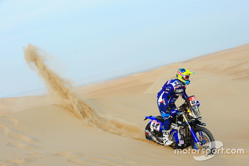 #44 Yamaha Official Rally Team: Rodney Faggotter