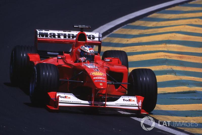 2000. Інтерлагос. Переможець: Міхаель Шумахер, Ferrari F1-2000