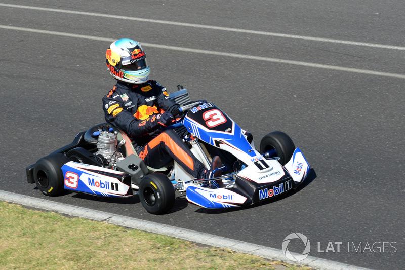 Daniel Ricciardo, Red Bull Racing karting al Go Kart Club Victoria