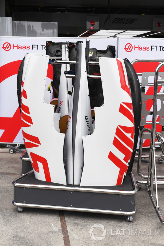 Haas F1 Team VF-18, carrozzeria