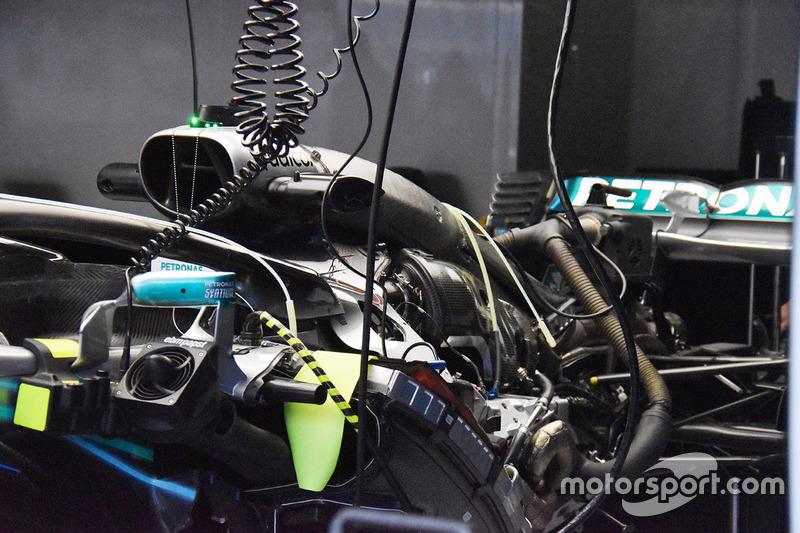 Mercedes-AMG F1 W09 detay