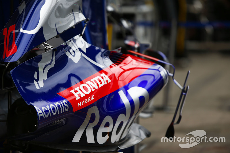 Detail bodywork Toro Rosso STR13