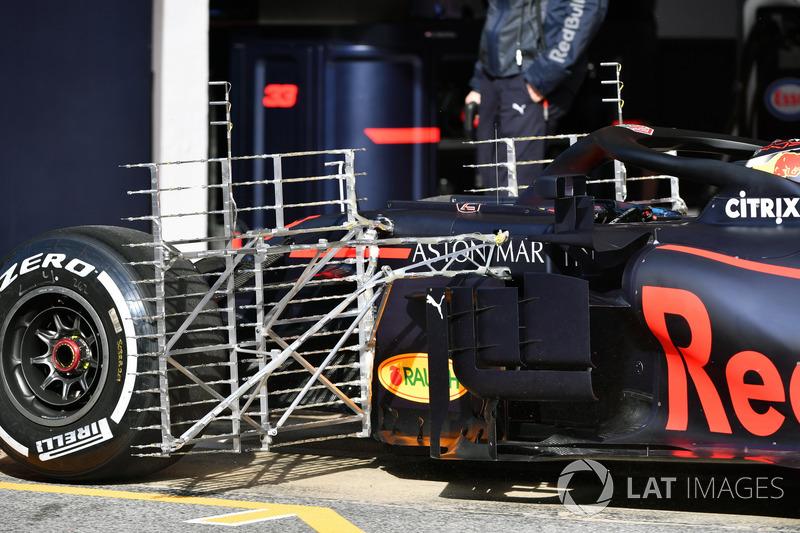 Red Bull Racing RB14 aero sensors
