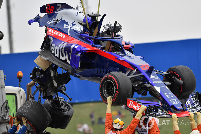 España - Brendon Hartley (Libres 3)