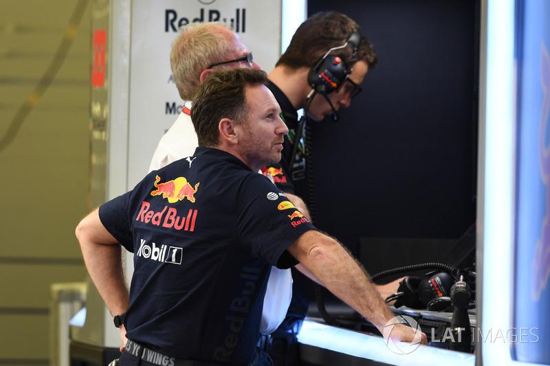 Christian Horner, Red Bull Racing y el Dr Helmut Marko, Red Bull