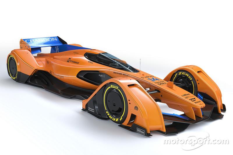 Концепт McLaren X2 (2018)