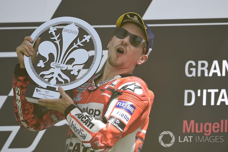 Хорхе Лоренсо, Ducati (10 полных лет в премьер-классе, 3 титула в MotoGP)