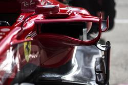 Ferrari SF70H, dettaglio della presa d'aria