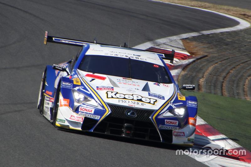 Рио Хиракава и Ник Кэссиди– Lexus Team KeePer Tom's, №1 (Lexus LC 500)