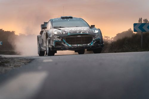 Ford Puma Rally1 - Test di ottobre