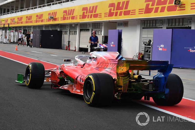 Роберт Кубіца, Williams FW41 та аерофарба