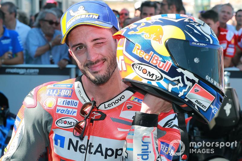 Il secondo classificato Andrea Dovizioso, Ducati Team