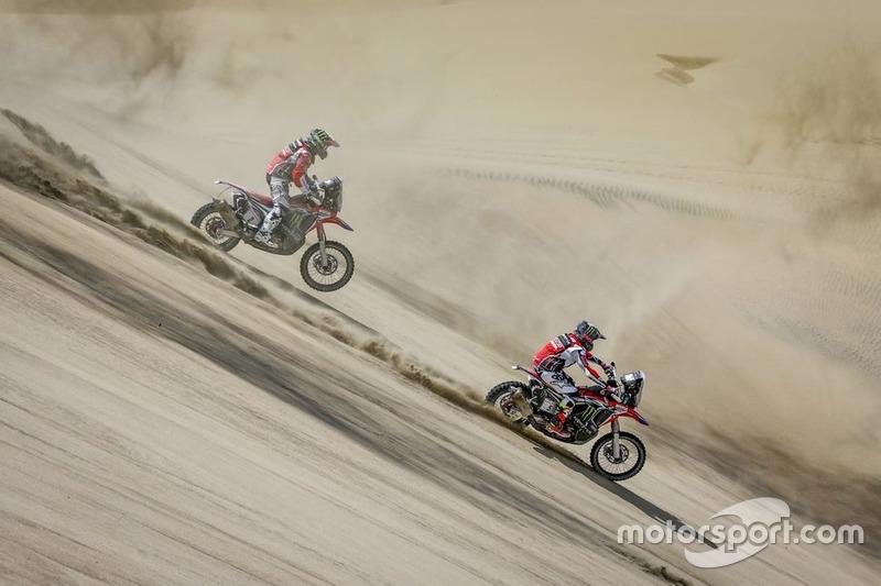 Kevin Benavides y Paulo Gonçalves, Monster Energy Honda