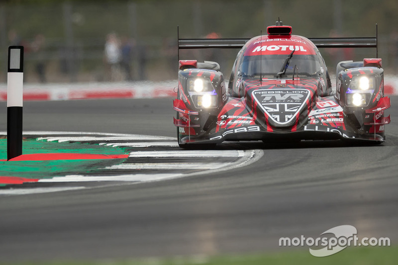 #1 Rebellion Racing Rebellion R-13: André Lotterer, Neel Jani, Bruno Senna