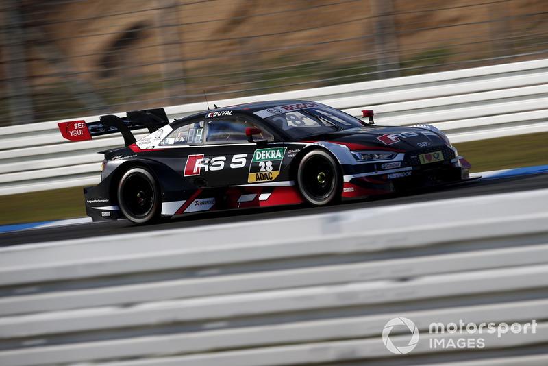 5. Loic Duval, Audi Sport Team Phoenix, Audi RS 5 DTM