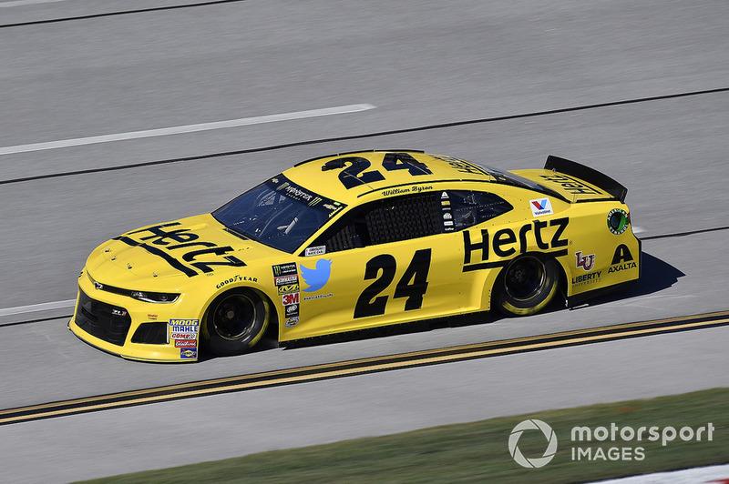 8. William Byron, Hendrick Motorsports, Chevrolet Camaro Hertz