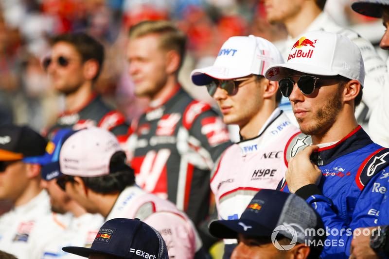 П'єр Гаслі, Scuderia Toro RossoЕстебан Окон, Racing Point Force India
