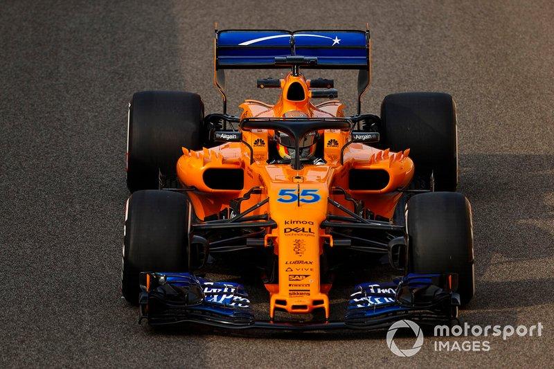 2018 (test post temporada): McLaren MCL33