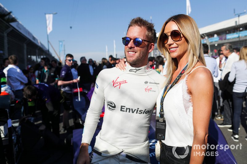 Sam Bird, Envision Virgin Racing, con la moglie Hollie Christie