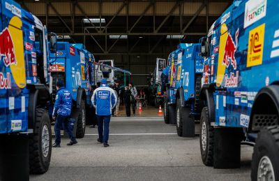Dakar teams verification