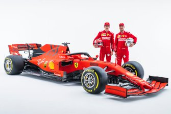 Charles Leclerc, Ferrari, Sebastian Vettel, Ferrari con la Ferrari SF90
