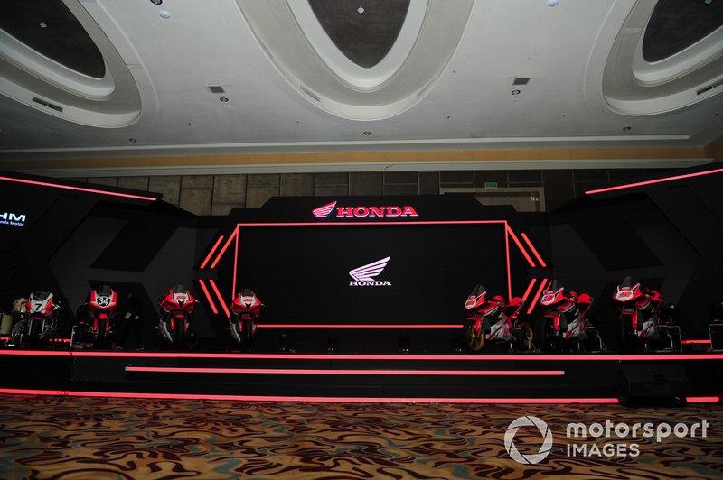 Motor balap Astra Honda Racing Team