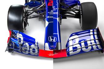 Toro Rosso STR13 vs. STR14