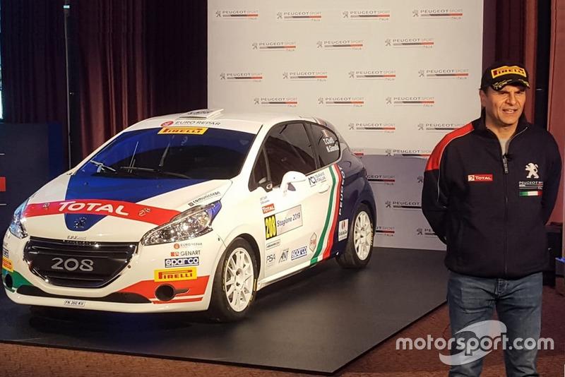 Paolo Andreucci, Peugeot Sport Italia, con la Peugeot 208