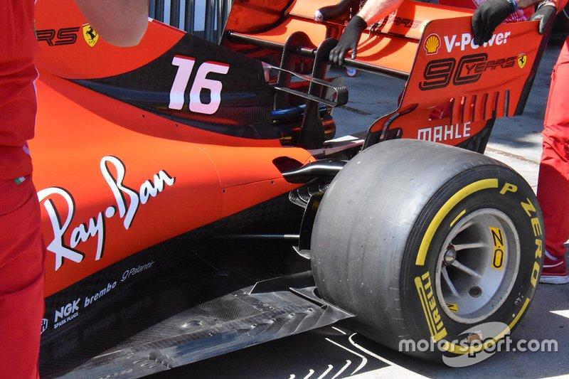 Detail belakang Ferrari SF90