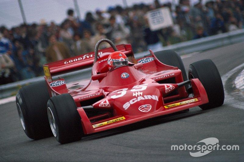 Bruno Giacomelli, Alfa Romeo 177