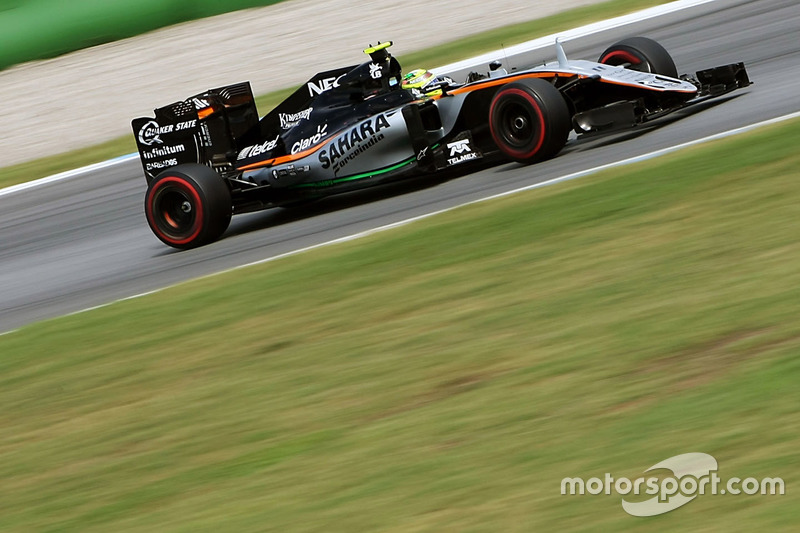 10. Sergio Perez, Sahara Force India F1 VJM09