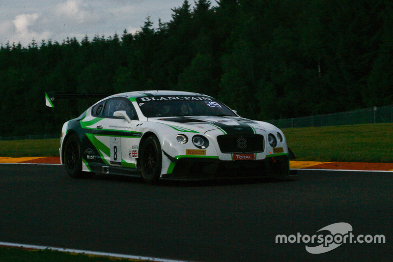 #8 Bentley Team M-Sport Bentley Continental GT3: Maxime Soulet, Andy Soucek, Wolfgang Reip