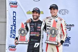 Race winner Santiago Urrutia, Schmidt Peterson Motorsports, second place André Negrao, Schmidt Peterson Motorsports