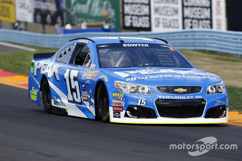 18. Clint Bowyer, HScott Motorsports, Chevrolet