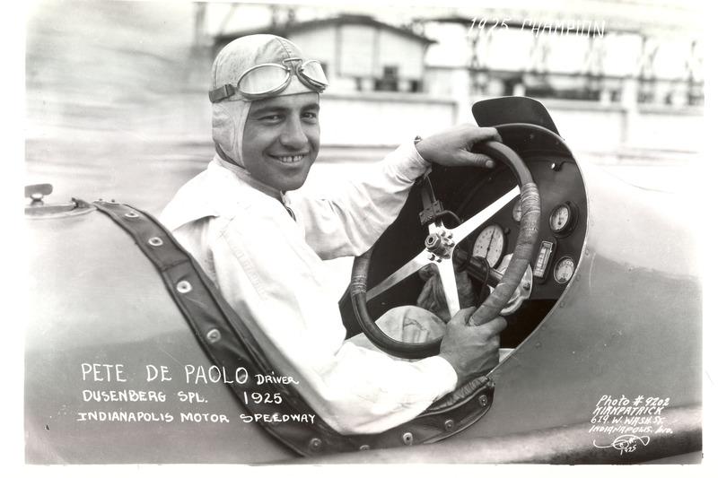 Ganador de la carrera Peter DePaolo