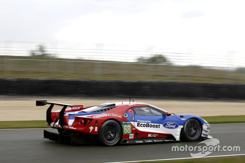 #68 Ford Chip Ganassi Racing Ford GT: Джоі Хенд Дірк Мюллер, Себастьян Бурде