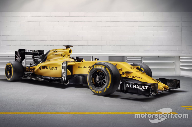 Renault F1 Team, Farbdesign 2016