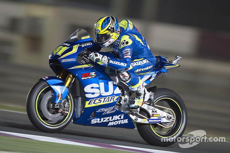 Aleix Espargaro, Team Suzuki Ecstar, Suzuki at Qatar GP