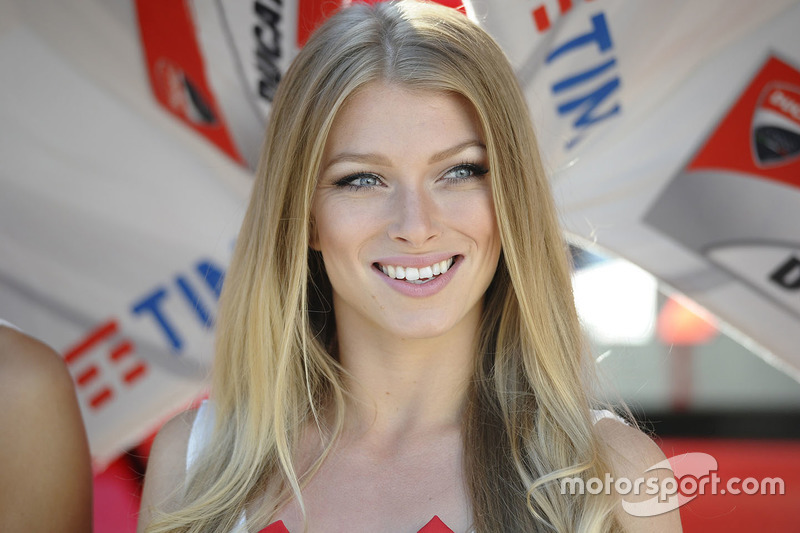Lovely Ducati Team girl