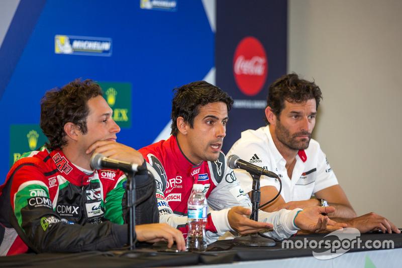 Brunno Senna, Mark Webber, Lucas di Grassi