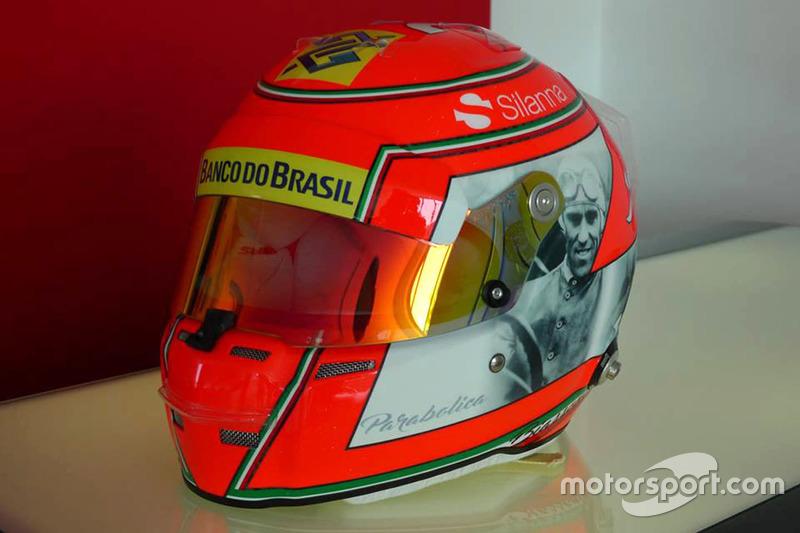 Kask, Felipe Nasr, Sauber
