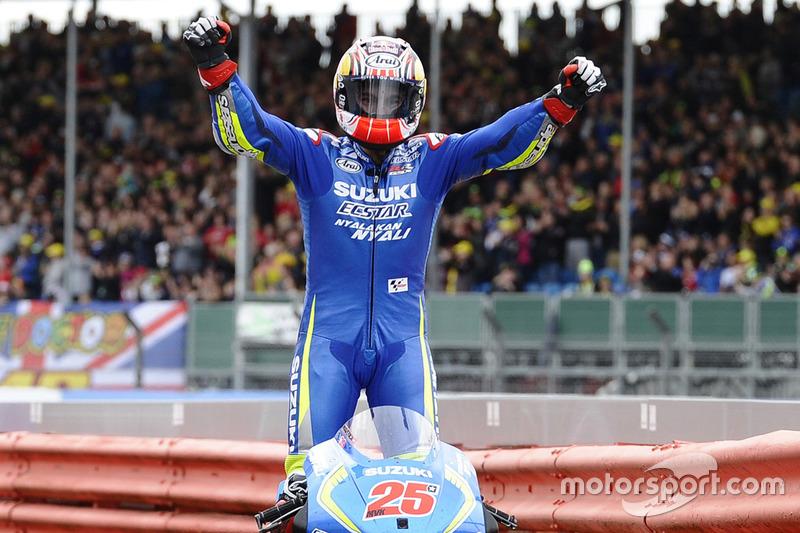 Pemenang MotoGP Inggris 2016, Maverick Vinales, Team Suzuki MotoGP