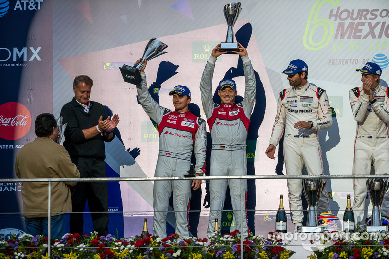 2. #7 Audi Sport Team Joest Audi R18: Marcel Fässler, Andre Lotterer