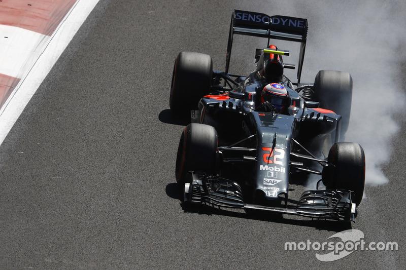 #7: Jenson Button in Aktion