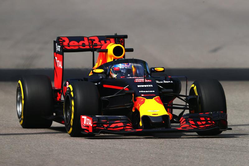 #9: Daniel Ricciardo testet den Aeroscreen