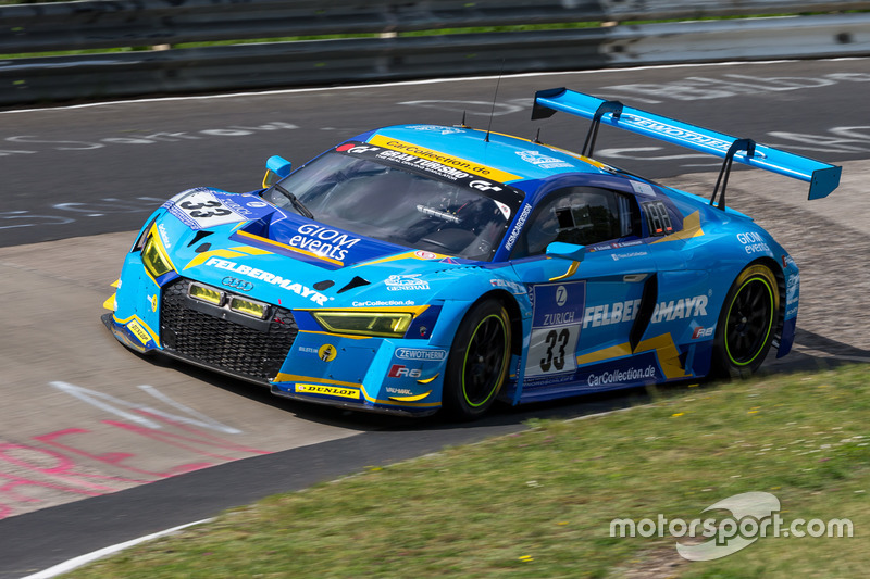 #33 Car Collection Motorsport, Audi R8 LMS: Andreas Ziegler, G. Tonic, Ronnie Saurenmann, Peter Schmidt