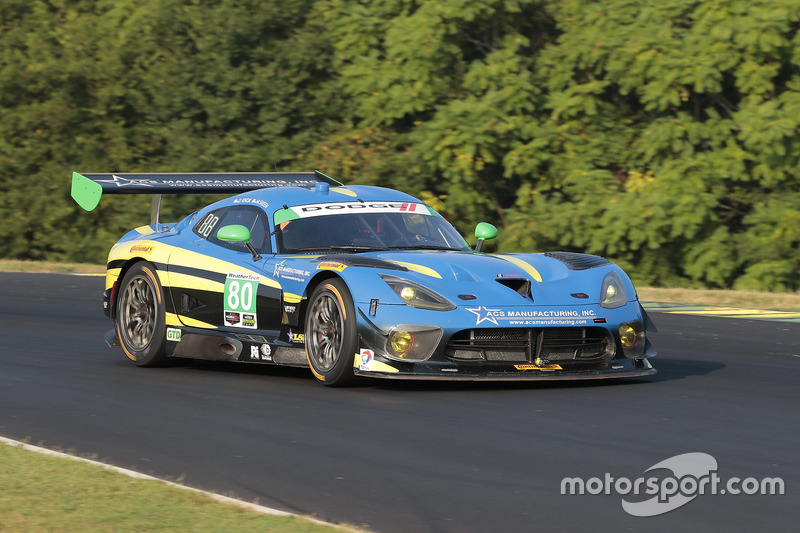 #80 Lone Star Racing Dodge Viper GT3-R: Dan Knox, Mike Skeen